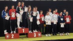 Xenia Maul Deutsche U17-Vizemeisterin im Damenflorett