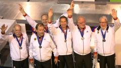 Senioren-WM in Limoges: 2x Silber und 1x Bronze