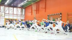 28 neue Hamburger Turnierfechter